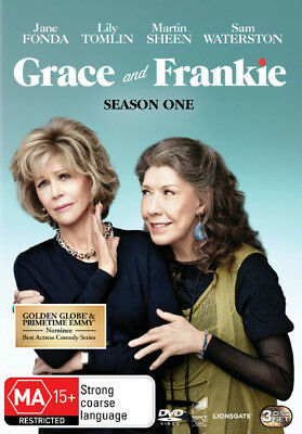 Grace And Frankie Season / Series 1 DVD R4 New!