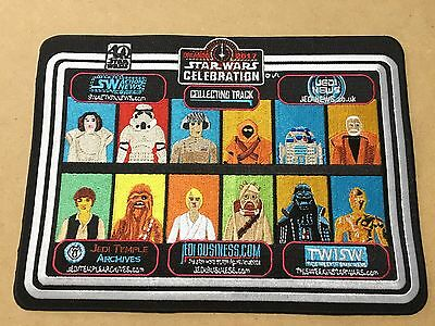 Star Wars Celebration Orlando 2017 UNCUT Collecting Track Patch