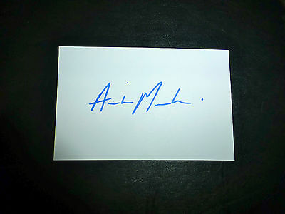 "Aiden MARKRAM SA ""A"" cricket signed card (60x92mm) - NEWEST Test Cap No. 332"