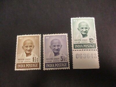 World Stamps: India Set Mint  - Great Item  (A81)