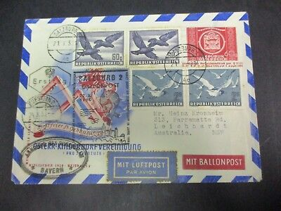 World Stamps: Austria Cover - RARE - Great Item  (A82)