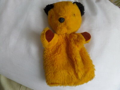 Vintage 70's Sooty hand Puppet