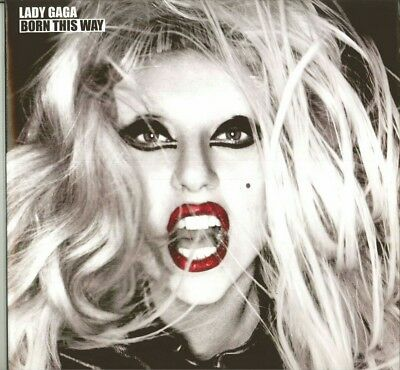 Lady Gaga Born This Way Double Vinyl LP Record - Played Once Near-Mint Condition