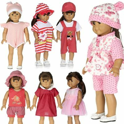 """Dolls Dress Clothes 18"""" American Girl/Our Generation/Journey Girl/My Life Doll"""