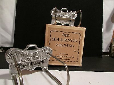 VTG. 1920's NOS~Shannon Arch with Box~lot of 2~Industrial~Steampunk~Rochester NY