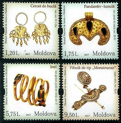 Moldova 2017 National Museum of History - Women's Adornments MD197 MNH**