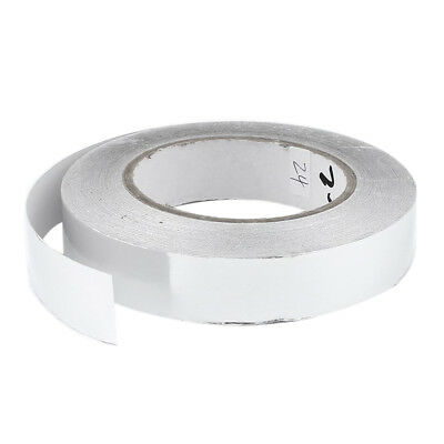 25mm x 50m Roll Aluminium Foil Heating Duct Adhesive Sealing Tape D4H2 Y5M3