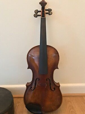 German Violin with C. A. Hoyer Bow