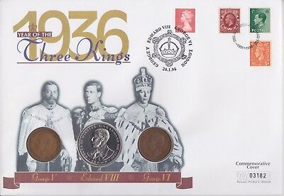Gb Stamps 1996 King Edward Viii Three Kings Coin Special From Collection