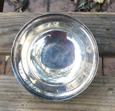 """Silver Small Bowl By Gorham 4 1/2"""" YC795 Silverplated"""