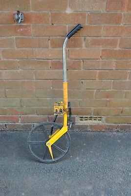 Trumeter 5000 Road Measuring Wheel Land Distance Measurer USED
