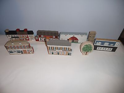 Lot Of 6 Lancaster County Cat's Meow Village
