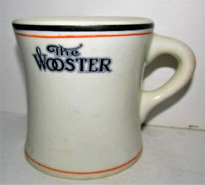 THE WOOSTER 1925 Syracuse China Diner Hotel Restaurant Vintage Coffee Mug / Cup