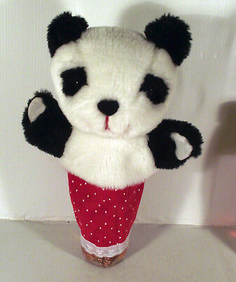"10"" Soo Panda Hand Glove  Puppet Toy - Sue From Sooty & Sweep"