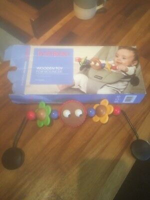 Baby born Wooden Toy For Bouncer