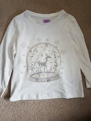 Lovely Girls Christmas Top Age 18-24 Months. Never Worn. Brand New Without  Tag.
