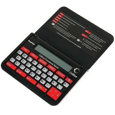 Franklin CWM109 Collins Electronic Crossword Solver Thesaurus New