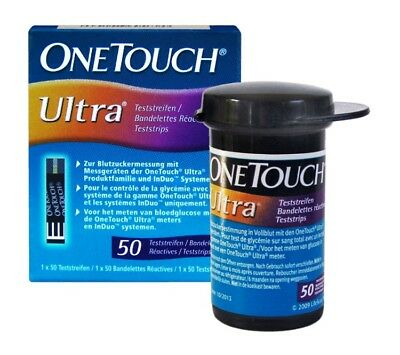 One Touch Ultra 1 Packung 50 Teststreifen