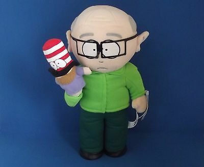 "South Park Mr Herbert Garrison with Mr Hat 14"" Vintage Plush Figure Teddy"