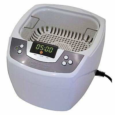 James Products 80W Digital Timer 2L Stainless Steel Tank Ultrasonic Cleaner New