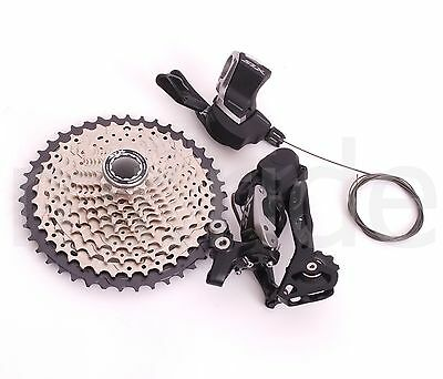 2017 Shimano Group set 3pcs SLX M7000 11Spd Shifter,Derailleur,Cassette 11-42T