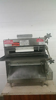 ACME Heavy Duty Stainless Steel 2 Pass Bench Dough Roller MRS11 Tested 115 Volt