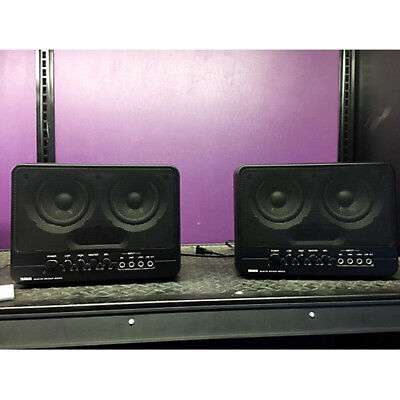 Coppia di Casse Amplificate Yamaha MS 202 powered monitor studio speakers