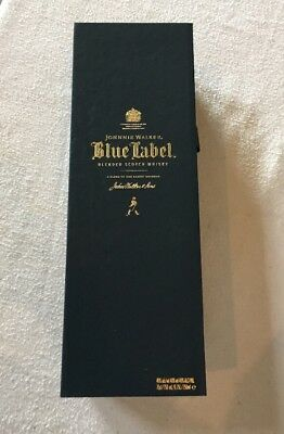 Blue Label Johnnie Walker Whisky Empty Box Pre Owned