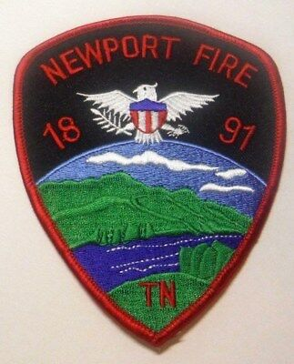Newport Tennessee Fire Dept Patch Unused