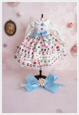 New 1/6 Doll Dress Pullip Dress Blythe Clothes Azone Outfit 1/6BJD Outfit