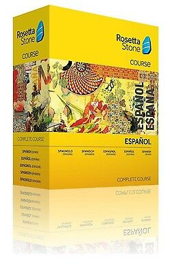 Rosetta Stone Spanish Full Course Levels 1-5