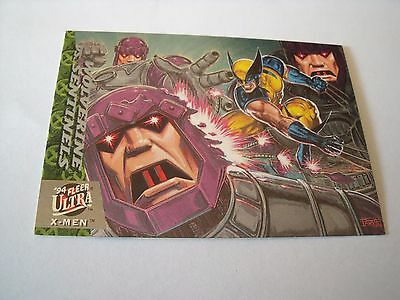 1992 Marvel Masterpieces Silver Surfer Vs Thanos Trading Card
