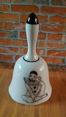 Pierrot Clown  China Bell Ornament