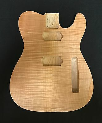 Fender Telecaster  Lic.Monster Wood Body High Grade Maple Flame Top
