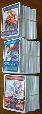 Suikoden cards - Chapter 2 Vol. 3 - Lot of 500 cards