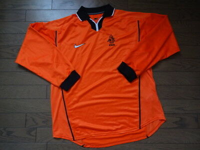 Netherlands Holland 100% Authentic Player Issue Soccer Jersey 1998/99 LS L NEW