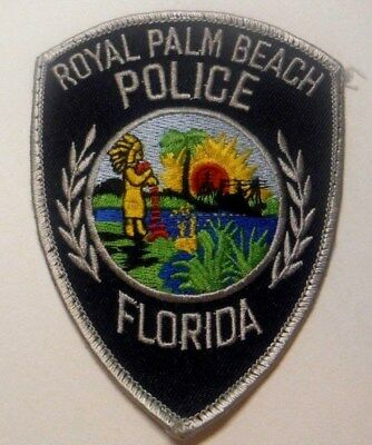 Old Defunct Royal Palm Beach Florida Police Patch