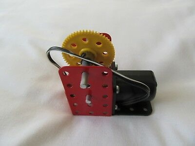 Meccano electric motor
