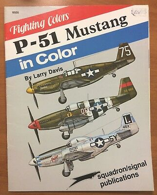 Aviation book Squadron Signal P51 Mustang in color