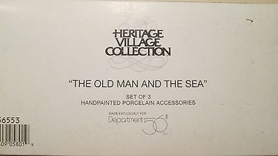 DEPT 56 Heritage Village Collection THE OLD MAN AND THE SEA 56553