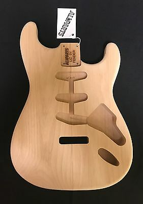 Fender Stratocaster Lic.All Parts Guitar Body Alder 2Pcs. Unfinished