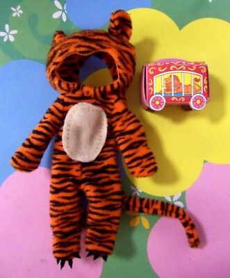 Kelly Chelsea Tommy Polymer Doll Clothes *Halloween Costume Tiger Outfit Cookies