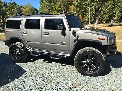 2008 Hummer H2 Luxury 2008 hummer H2 Luxury pkg Lifted 37s!!