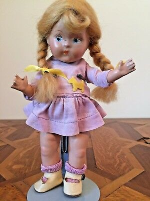 GINNY TODDLES Doll Painted Eyes Blonde Hair Original Great Condition!