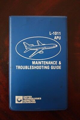 Maintenance & Troubleshooting Guide Lockheed Tristar L-1011 United Technologies