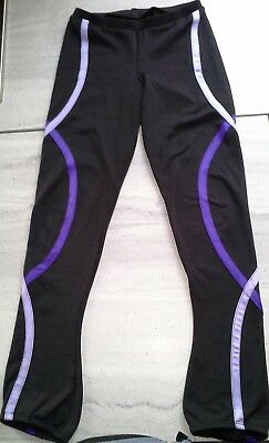 Girls ice skating trousers.  Age 12-14.  Worn, but good condition