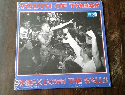 Youth of Today 'Break down the walls'. Green Vinyl. NYHC.SSD.JUDGE.