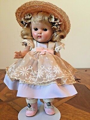 GINNY MUFFIE Doll Blonde Hair Brown Eyes Original Clothes A+ Condition!