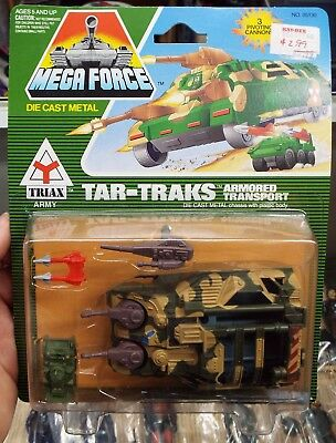Kenner Mega Force Triax Army Tar Traks Armored Transport