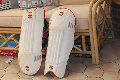 Gray Nicholls Cricket Pads  Two Sets, Plus Cricket Ball